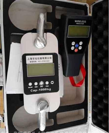 1吨电子拉力计_HZ-R-1T带串口数据线拉力计