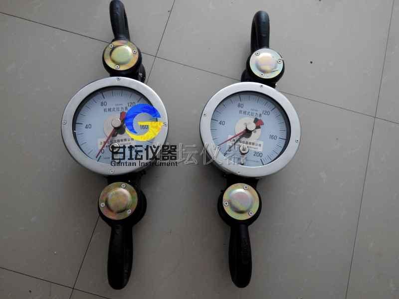 10吨机械式拉力表_100KN重力测量机.指针显示