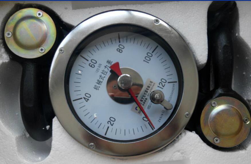 200kN指针式测力仪表.建筑工地用刻度式测力计